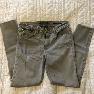 Light Gray Abercrombie skinny jeans